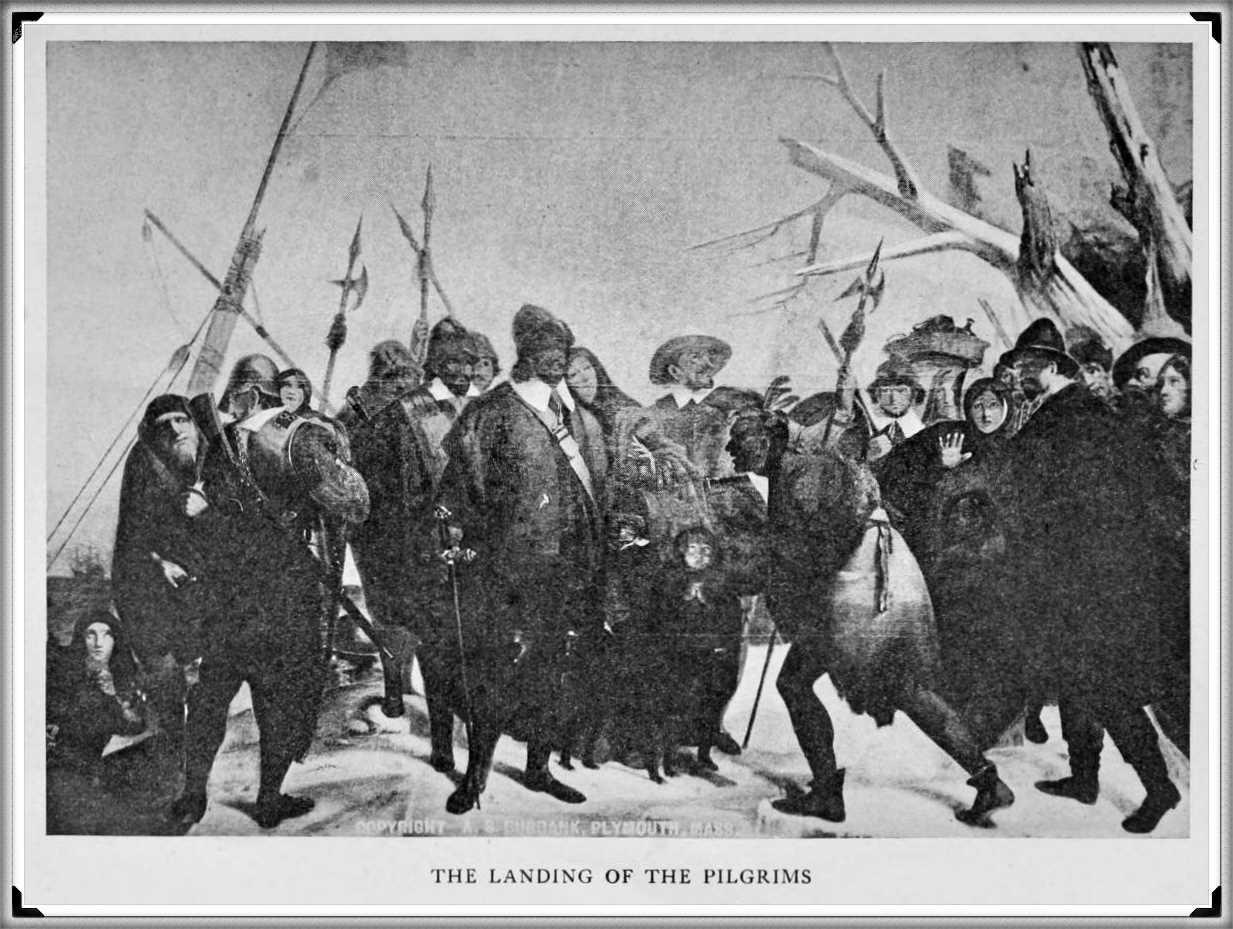 The Landing of the Pilgrims (late Dec. 1620)