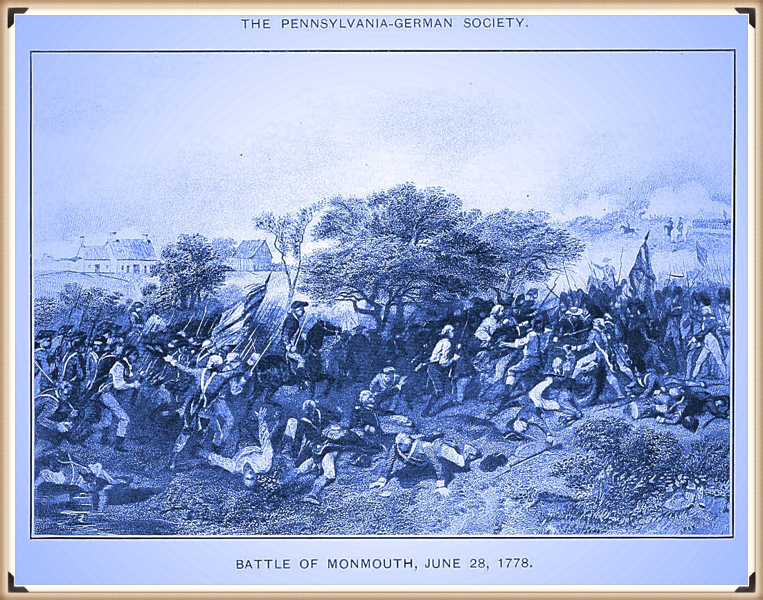 The Battle of Monmouth illustration
