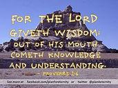 Proverbs 2:6