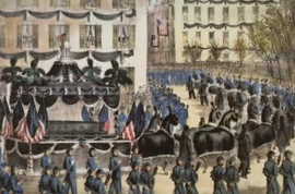 THE FUNERAL OF PRESIDENT LINCOLN