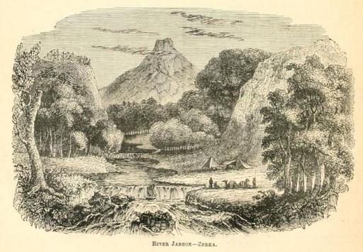Jacob crosses River Jabbok