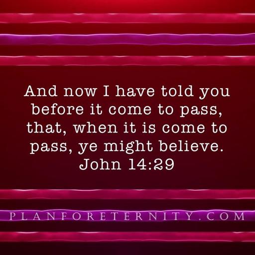Prophetic proof