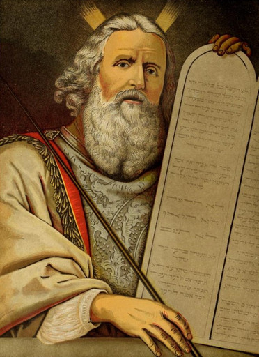 Moses Replaces the Tablets (Commandments)
