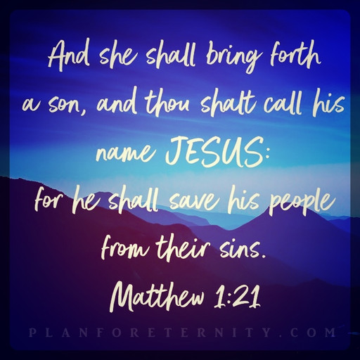 Saviour prophesied