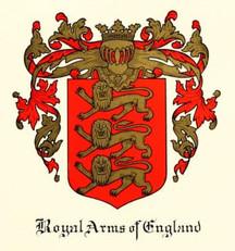 - ROYAL ARMS OF ENGLAND