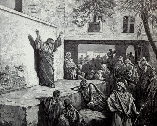 Micah exhorts Israel to repent