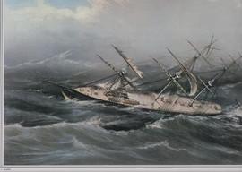 CLIPPER SHIP COMET OF NEW YORK