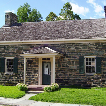 The Old Stone House at Port Jervis