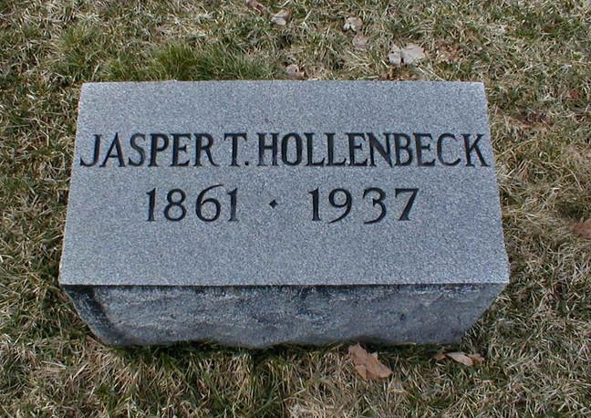 Jasper Hollenbeck burial