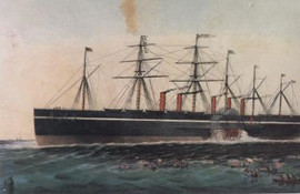 THE IRON STEAM SHIP GREAT EASTERN