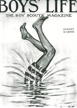 BOY SCOUTS Diving Swimming