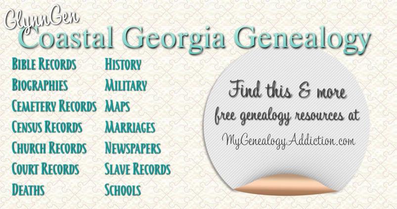 Coastal Georgia Genealogy and History