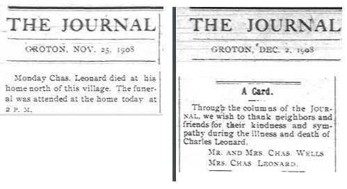 Charles R Leonard obituary