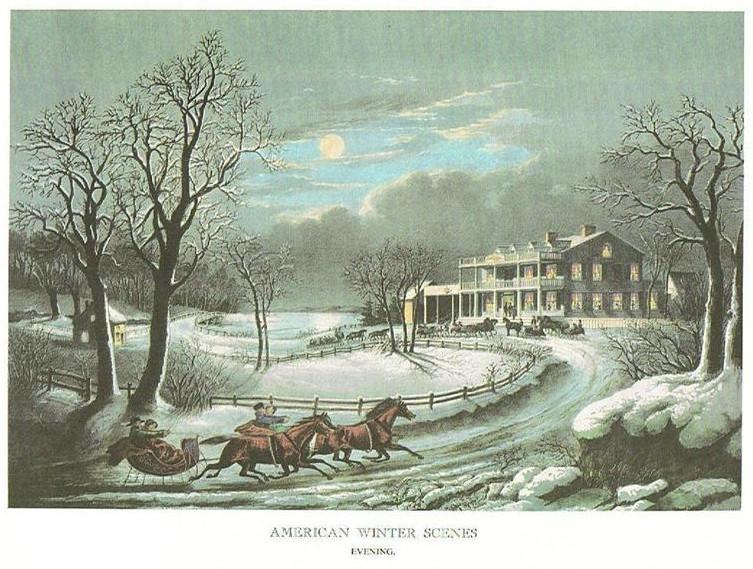 AMERICAN WINTER SCENES - EVENING