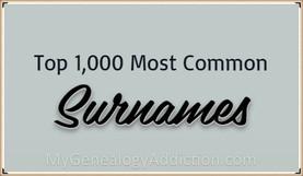 Top 1000 Surnames