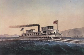 STEAM CATAMARAN - H.W. LONGFELLOW