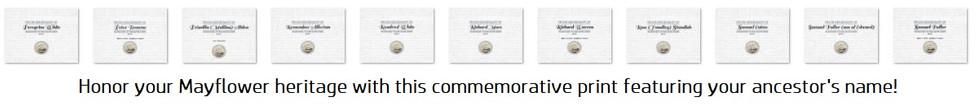 Mayflower Certificates.JPG