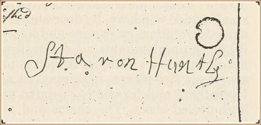 Aaron Huntley biography and genealogy