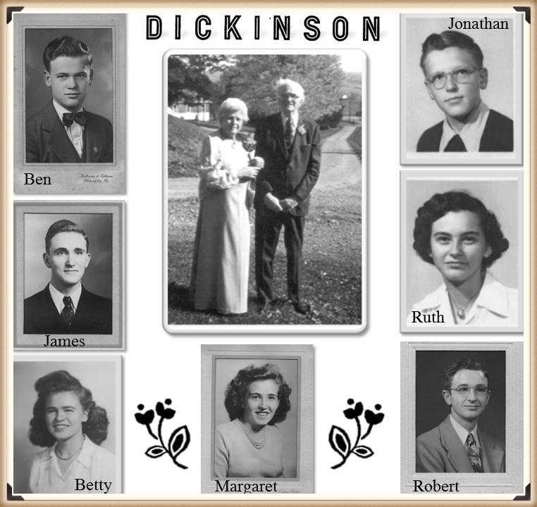 William H Dickinson family portraits