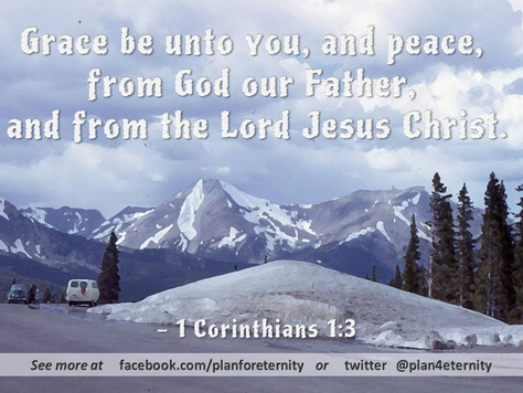 Grace and Peace be unto you