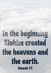 Creation of heaven and earth