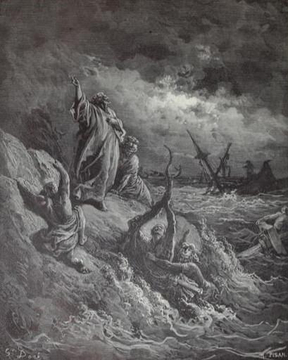 Paul lands at Malta