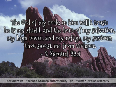 God is our Rock and Shield