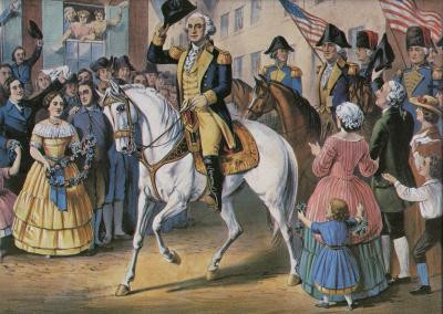 WASHINGTON'S ENTRY INTO NEW YORK