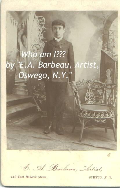Boy in Oswego NY photograph