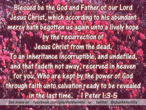 Our eternal inheritance