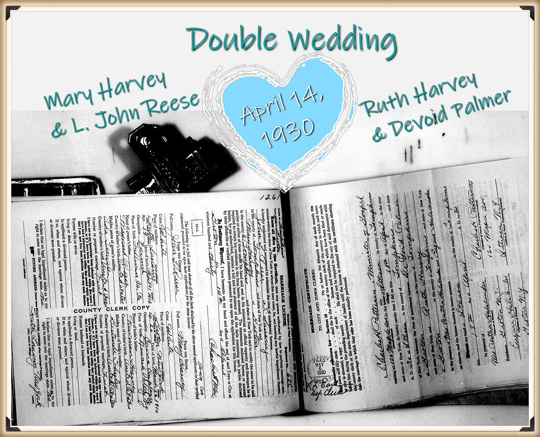 Harvey-Reese double wedding