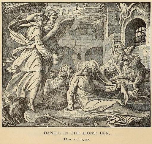 Angels protect Daniel