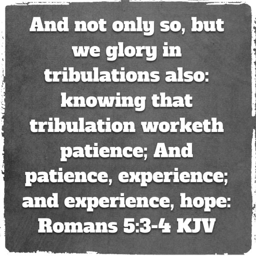 Give God glory through the good times and the bad times
