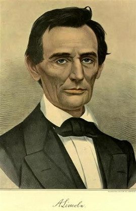 ABRAHAM LINCOLN (WITH SIGNATURE)