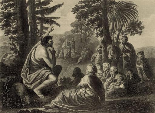 St. John Preaching