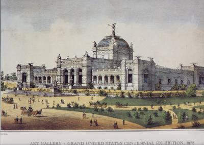 ART GALLERY - GRAND UNITED STATES CENTENNIAL EXHIBITION 1876