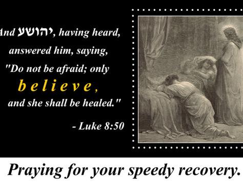 Healed by Faith