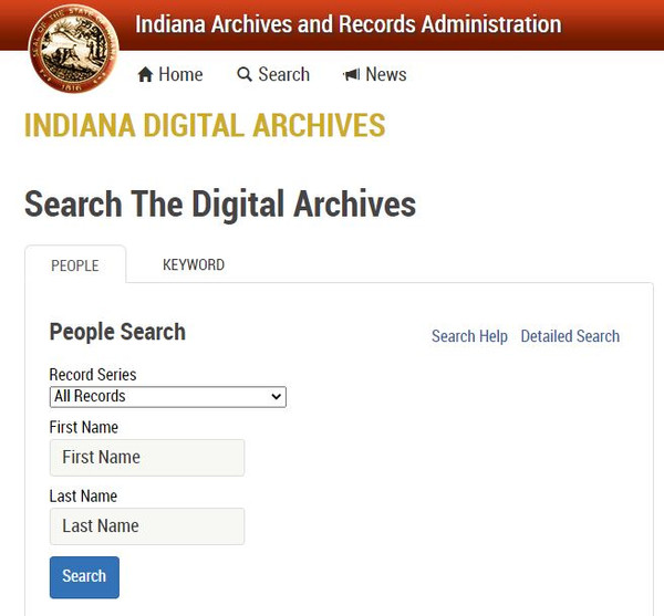 Indiana Digital Archives