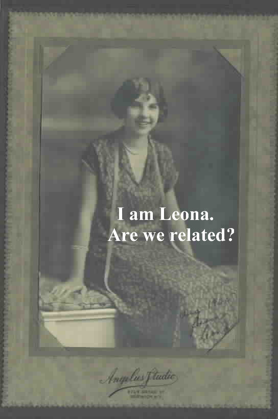 Leona from Norwich photograph