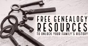 Free Genealogy Resources