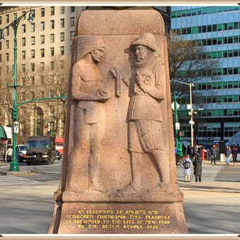 The Netherland Monument at Battery Park