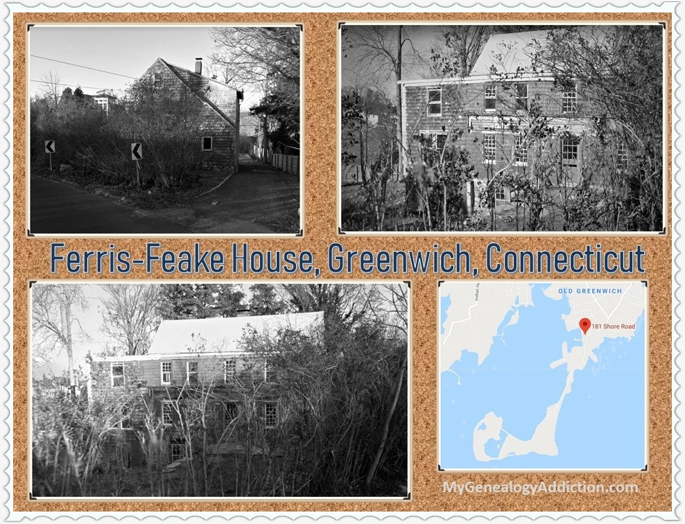 My ancestors who founded Greenwich, Connecticut