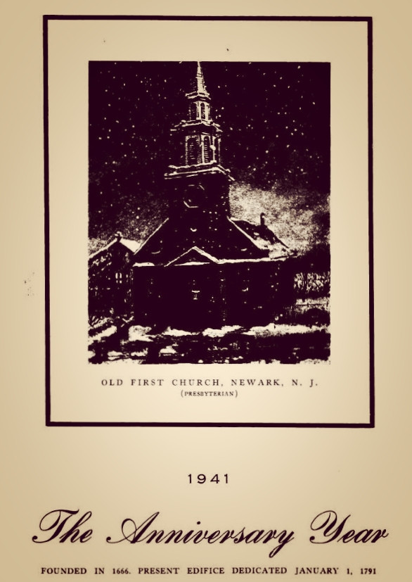1941, the anniversary year founded in 1666 present edifice dedicated January 1, 1791
