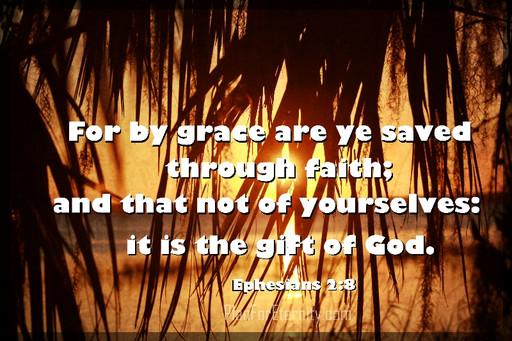 Salvation by God's grace