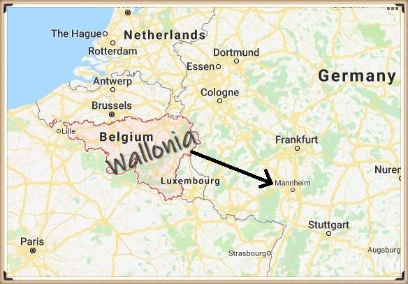 Frederick de Vaux of Wallonia, Belgium