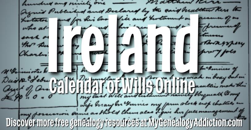 Northern Ireland Will Calendars