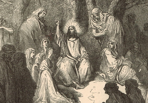 The Pharisees accuse Jesus of associating with sinners
