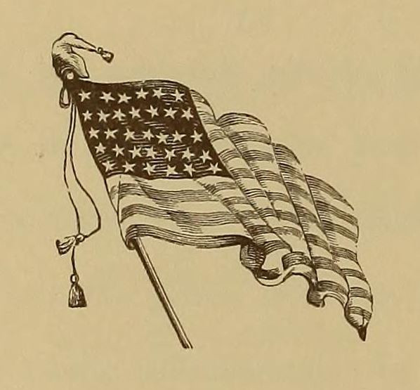 American Flag illustration graphic