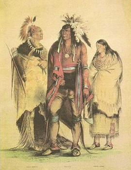 NORTH AMERICAN INDIANS - OSAGE, IROQUOIS, PAWNEE