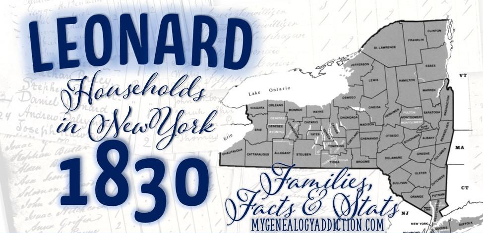 Leonards on the 1830 Census NY.jpg